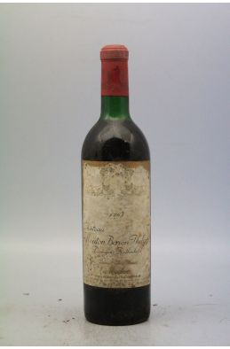 Mouton Baron Philippe 1968 - DISCOUNT -5%