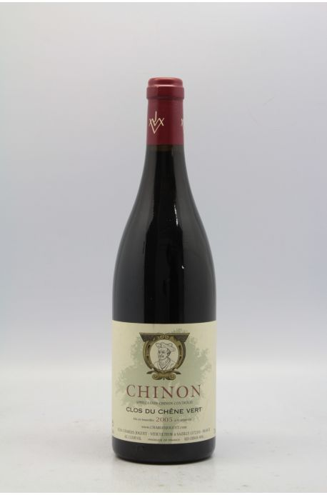 joguet chinon clos du ch ne vert 2005 vins millesimes. Black Bedroom Furniture Sets. Home Design Ideas