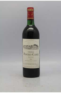 Pontet Canet 1982 -5% DISCOUNT !