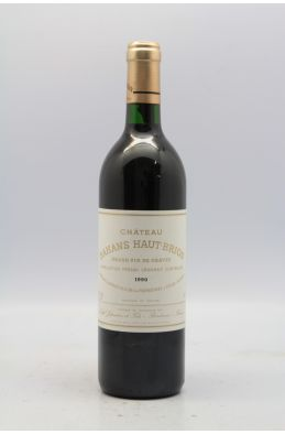 Bahans Haut Brion 1990