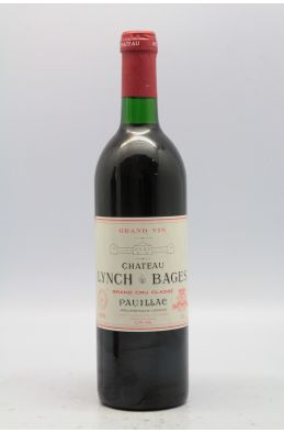 Lynch Bages 1990