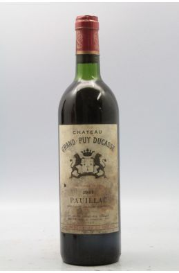 Grand Puy Ducasse 1981 -5% DISCOUNT !