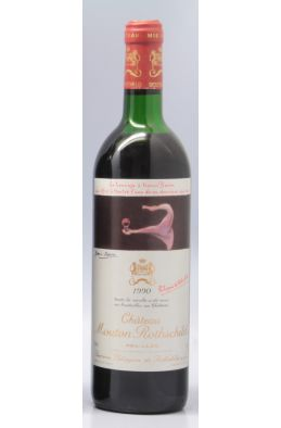 Mouton Rothschild 1990 -5% DISCOUNT !