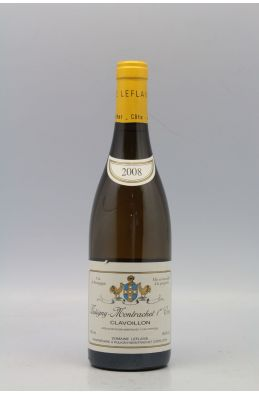 Domaine Leflaive Puligny Montrachet 1er cru Clavoillons 2008