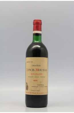 Lynch Moussas 1973