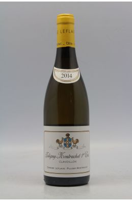 Domaine Leflaive Puligny Montrachet 1er cru Clavoillons 2014