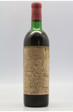 Mouton Baron Philippe de Rothschild 1969 -20% DISCOUNT !