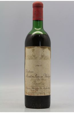 Mouton Baron Philippe de Rothschild 1969 -15% DISCOUNT !