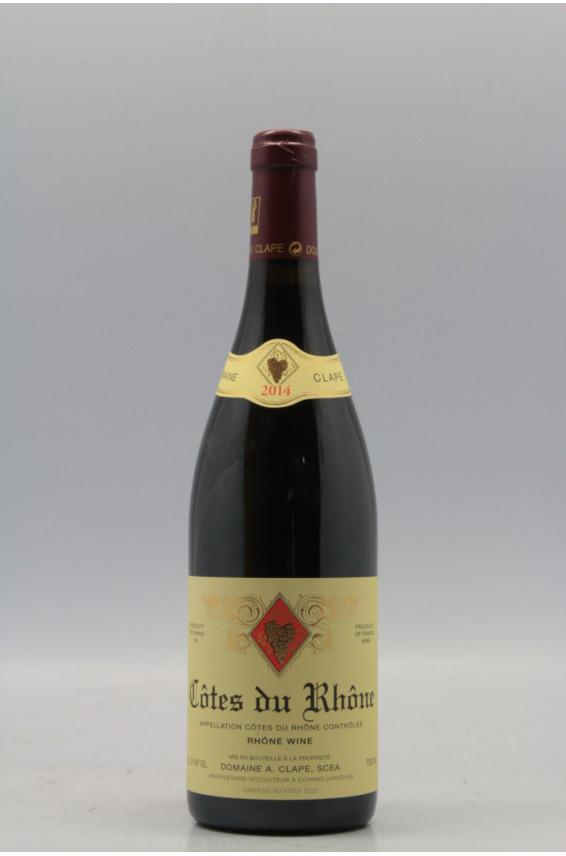 Auguste clape c tes du rh ne 2014 vins millesimes for Auguste chabaud cote