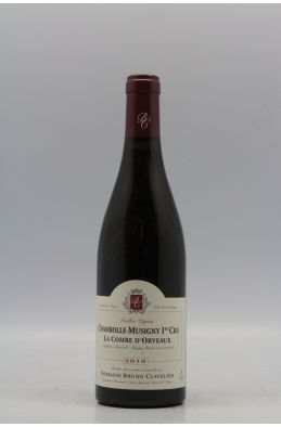 Bruno Clavelier Chambolle Musigny 1er cru La Combe d'Orveaux 2010