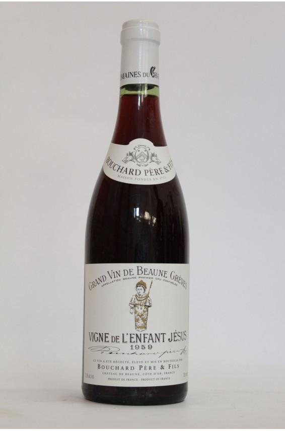 Bouchard Beaune Grèves 1er Cru Vignes de l'Enfant Jésus 1959
