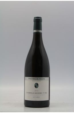 Patrice Rion Chambolle Musigny 1er cru Les Fuées 2013