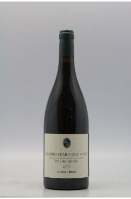 Patrice Rion Chambolle Musigny 1er cru Les Amoureuses 2009
