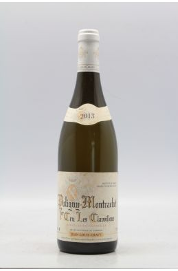 Chavy Puligny Montrachet 1er cru Clavoillons 2013