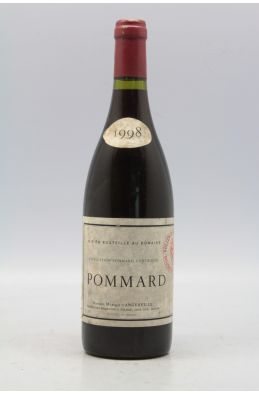Marquis d'Angerville Pommard 1998 -5% DISCOUNT !