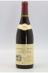 Henri Perrot Minot Chambolle Musigny 1er cru La Combe d'Orveau 1990