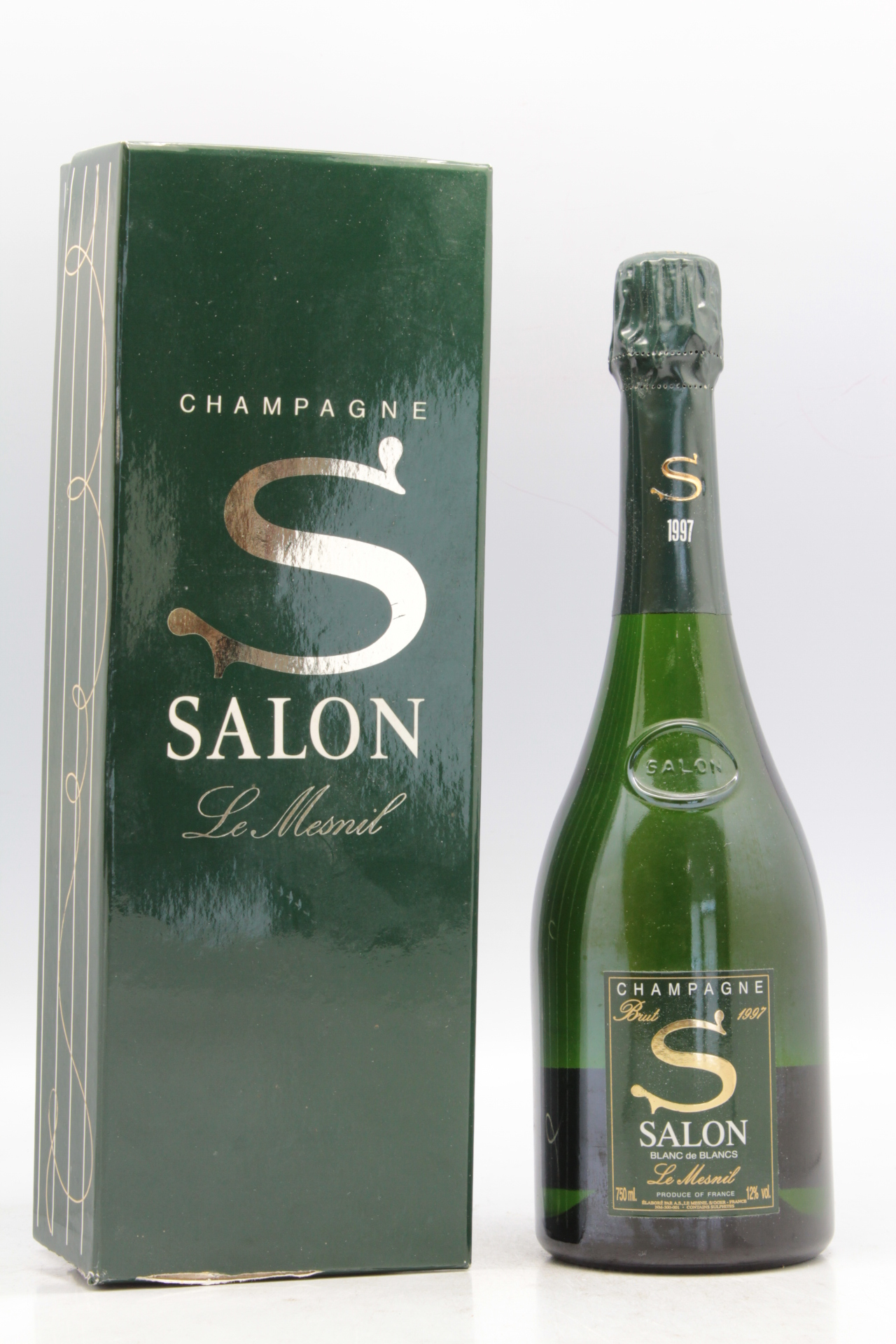 Salon 1997 vins millesimes for 1997 champagne salon