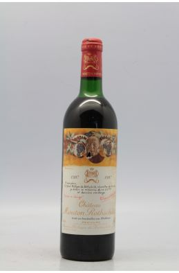 Mouton Rothschild 1987 -5% DISCOUNT !