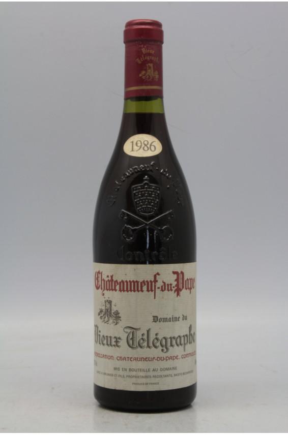 Vieux Télégraphe Chateauneuf du Pape 1986
