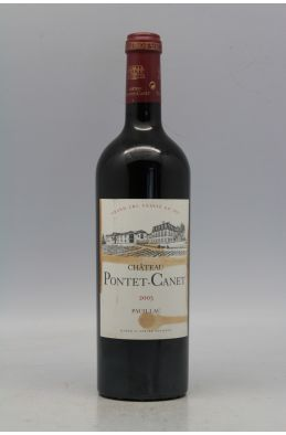 Pontet Canet 2005 -10% DISCOUNT !