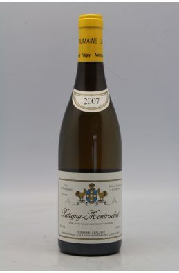 Domaine Leflaive Puligny Montrachet 2007 OWC