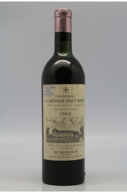 Mission Haut Brion 1962 -10% DISCOUNT !