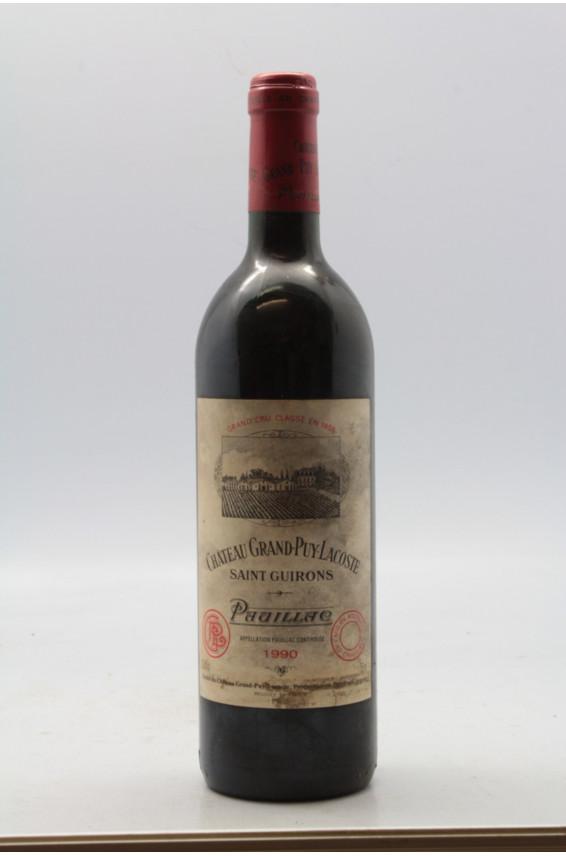 Grand Puy Lacoste 1990 - PROMO -10% !