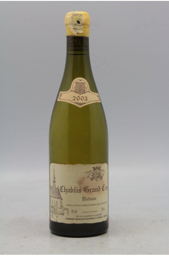 Raveneau Chablis Grand cru Valmur 2003 - PROMO -5% !