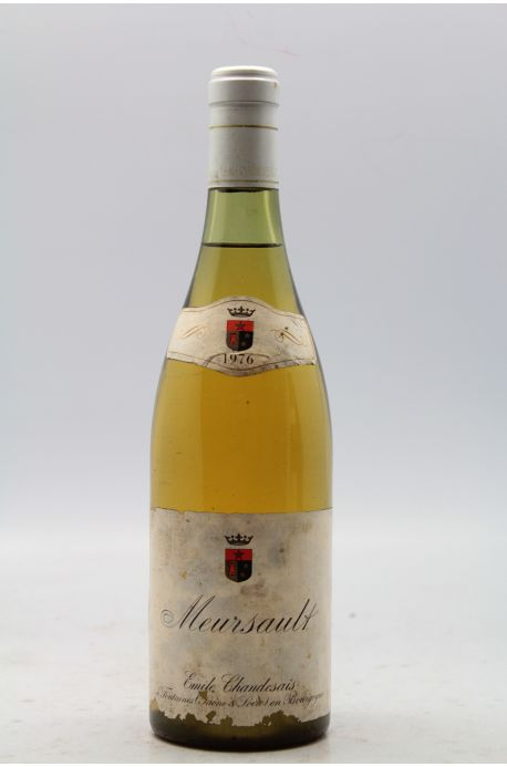 Chandesais Meursault 1976 - PROMO -5% ! - VINS & MILLESIMES