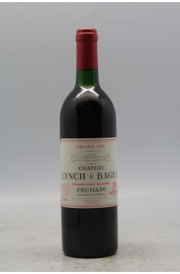 Lynch Bages 1985 - PROMO -5% !