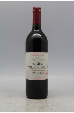 Lynch Bages 1989 OWC