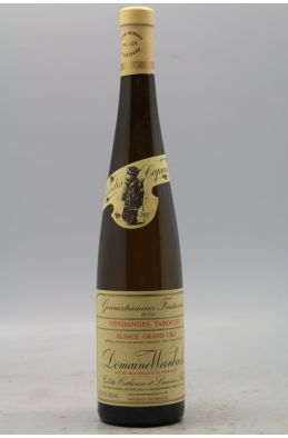 Weinbach Alsace Grand cru Gewurztraminer Furstentum Vendanges Tardives 2005