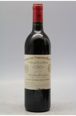 Cheval Blanc 1990 -5% DISCOUNT !