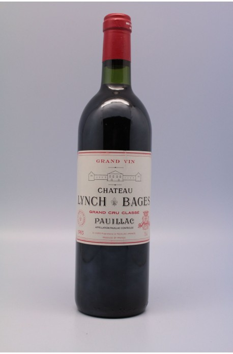 Lynch Bages 1983