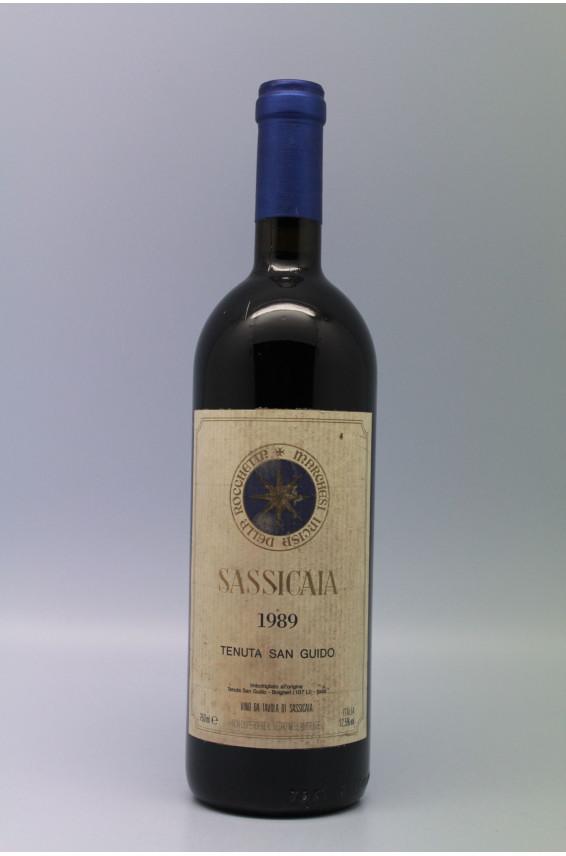 Tenuta San Guido Sassicaia 1989