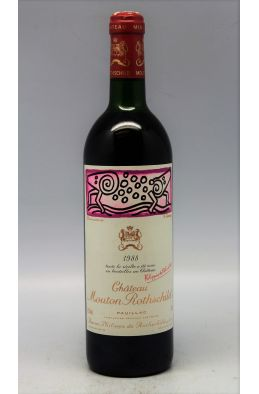 Mouton Rothschild 1988 -20% DISCOUNT !