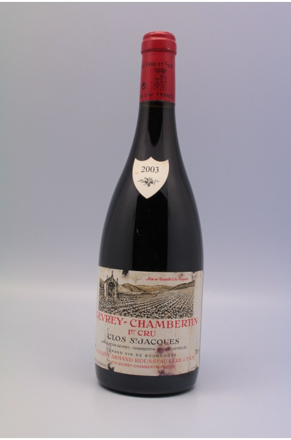 Rousseau Gevrey Chambertin 1er cru Clos Saint Jacques 2003