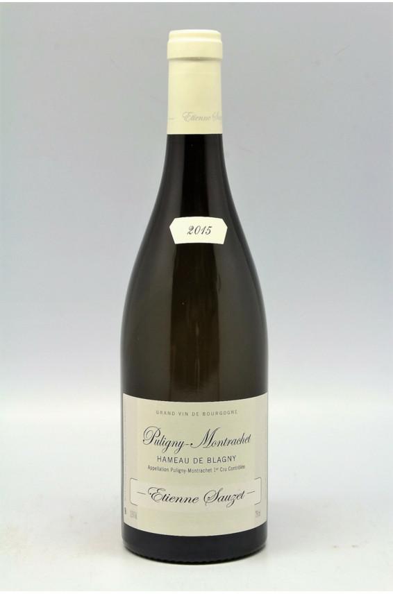 Sauzet Puligny Montrachet 1er cru Hameau de Blagny 2015