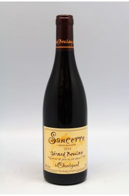 Gérard Boulay Sancerre Tradition 2014 rouge