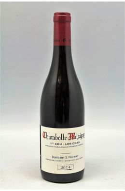 Georges Roumier Chambolle Musigny 1er cru Les Cras 2014