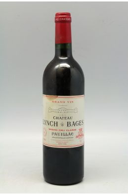 Lynch Bages 2001 -10% DISCOUNT !
