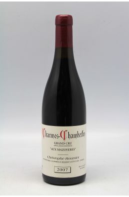 Georges Roumier Charmes Chambertin Aux Mazoyères 2007