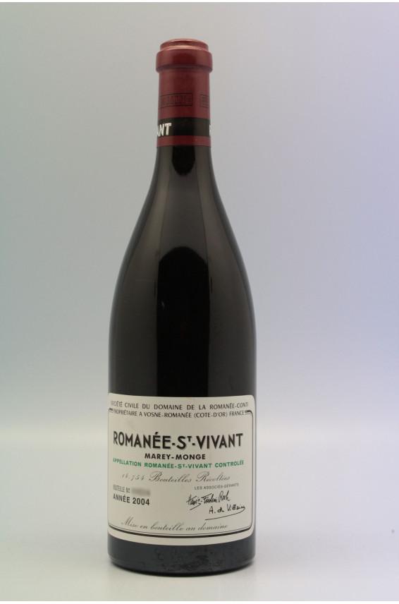 Romanée Conti Romanée Saint Vivant 2004