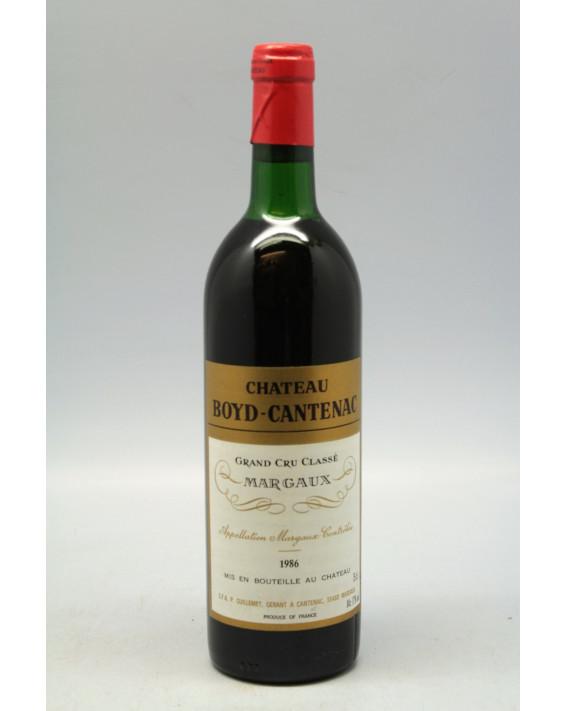 Boyd Cantenac 1986