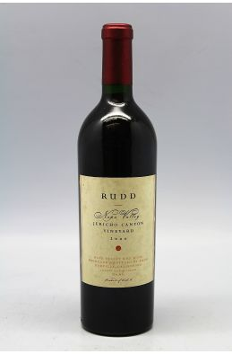 Rudd Napa valley Jericho Canyon Vineyard 2000
