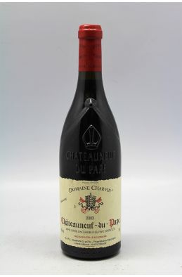 Charvin Chateauneuf du Pape 2003