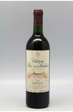 Prieuré Lichine 1989 -5% DISCOUNT !