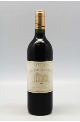 Bahans Haut Brion 1993