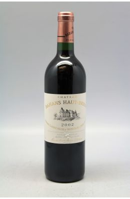 Bahans Haut Brion 2002