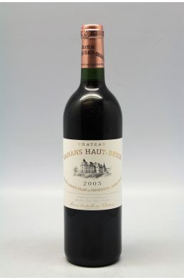 Bahans Haut Brion 2003